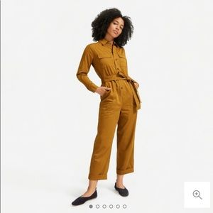 Everlane Brass Utility Jumpsuit